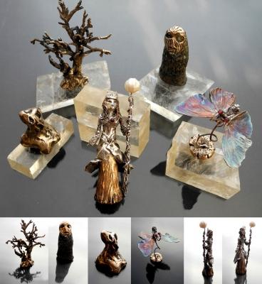 Chess pieces - Rekami Stworzone by Iwona Tamborska