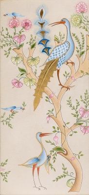 Martine Chany - paradis des oiseaux scene3