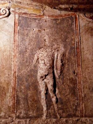 Roma domus aurea restauro affreschi cortile pentagonale - AREA snc