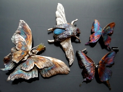 Insect jewelry by tamborska - Rekami Stworzone by Iwona Tamborska