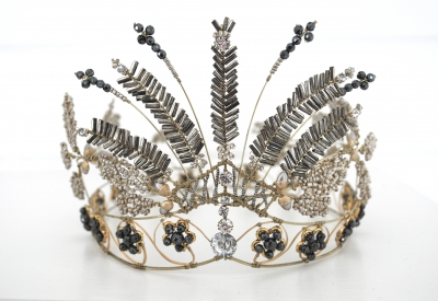 Britten Toftarp - Interpretation of the swedish royal steel cut tiara 2010