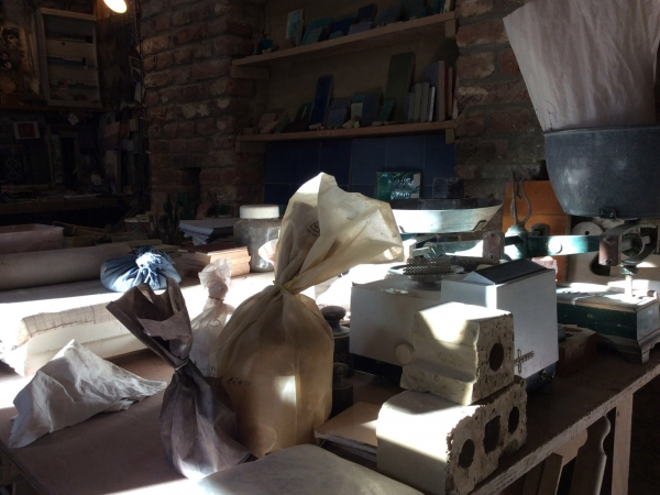 The workshop of Christian Van Parys
