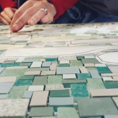 Delphine Lescuyer - Atelier anis et celadon