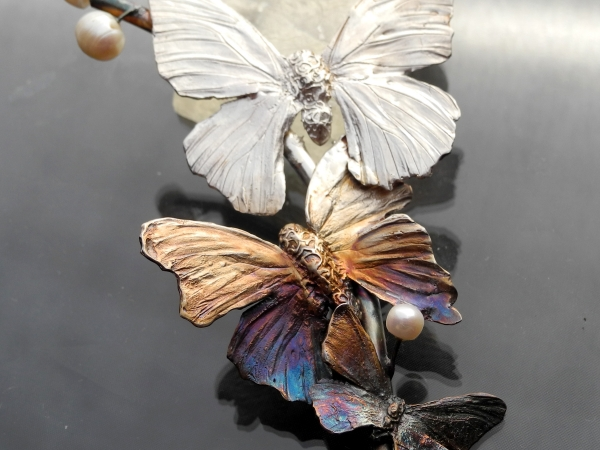 Butterfly branch - Rekami Stworzone by Iwona Tamborska