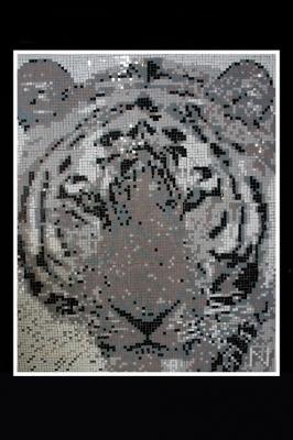 Tigre pixelise - Nina Quaglio