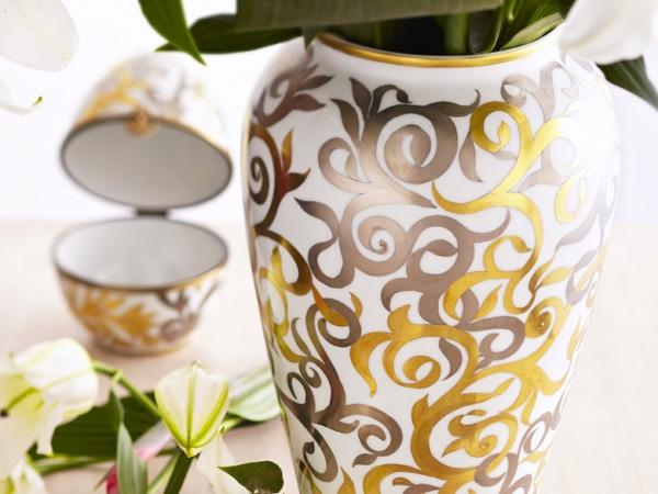 Slider porcelain vase - Maison Laure Sélignac