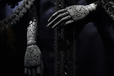 William morris inspired carved mannequin arms for utopian bodies by anastasya martynova lowres