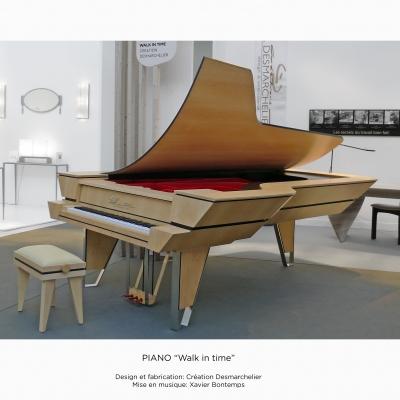 François Desmarchelier - Piano sur le stand