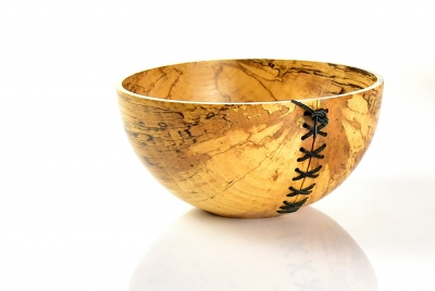 Spalted beech bowl - Ryszard Donitza