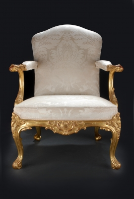 George iii gilt chair - Julian Stanley
