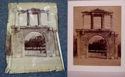Restauro di foto d epoca - AREA snc