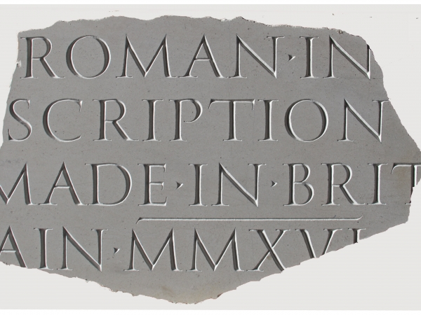 Annet Stirling - Roman inscription