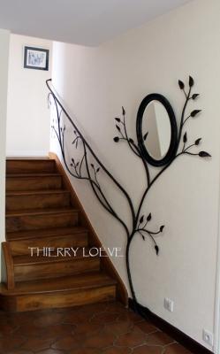 Main courante decorative - Ferronnerie contemporaine