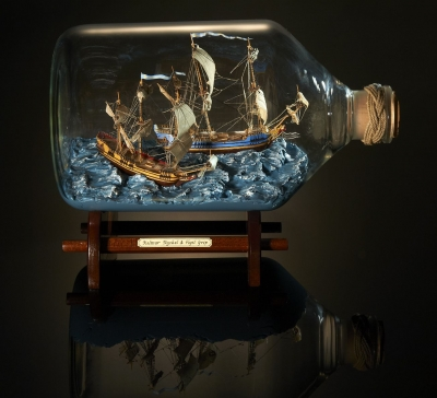 Heather Gabrielle Rogers - Bateaux en bouteilles 1675