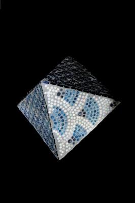Octaedre bleu - Nina Quaglio