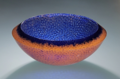 Vitrucell bowl, designed by Zdenek Lhotsky