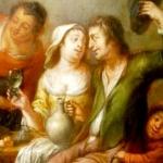 Isabelle chavanon huile sur cuivre xviimesicle aprs restauration
