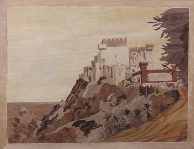 Castello di falconara - Marquetry Design - Dušan Rakić
