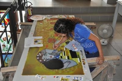 Alessia nocca pittura su vetro