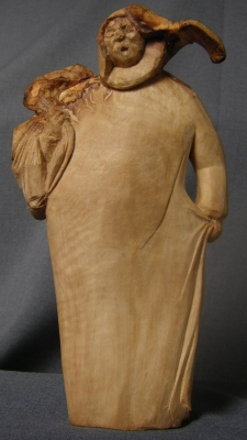Olive picker - John Adamson Wood Sculptor - John Adamson