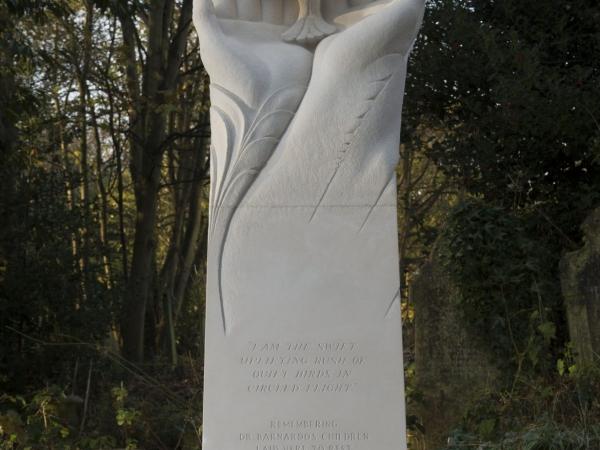 Barnados charity monument by tom nicholls
