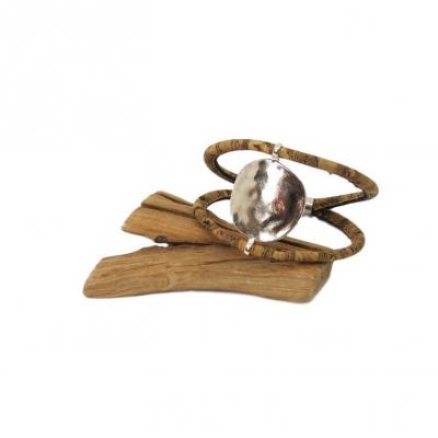 Bracelet en liege. Manon - Karina Labrousse