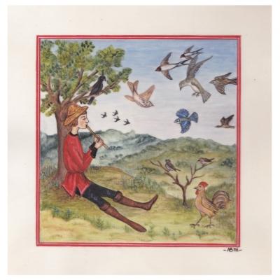 Annie Bouyer - Le rappel des oiseaux