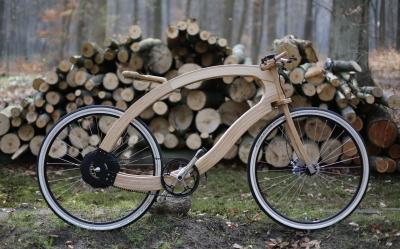 Wood e bike