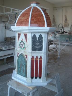 Restauro tabernacolo madonna delle grazie 23