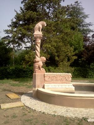 fontana in calcare