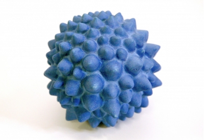 A Howitt Blue Fractal Ceramics