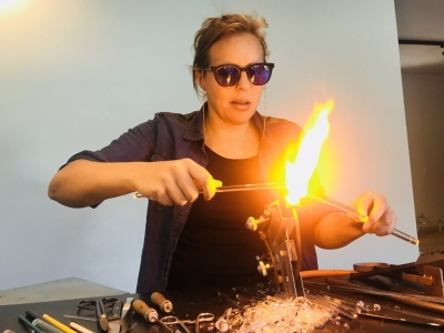 Katarina Thorstensson - Lampwork Studio - Sweden