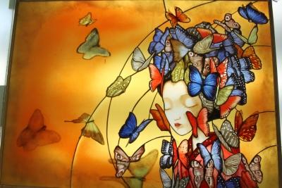 Emmanuelle andrieux lefevre madame butterfly d apres benjamin lacombe