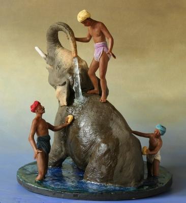 La toilette de l elephant