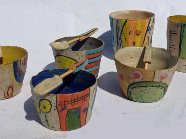 Cecile brillet tazas de gres y porcelana