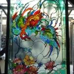 7 uccello del paradiso h 180x120 cm