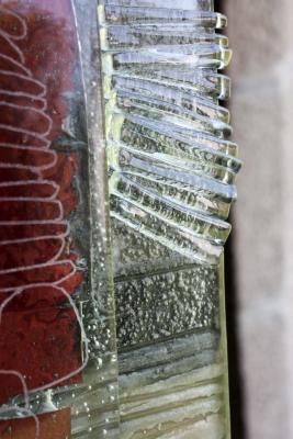 Detail verre fusionne garcia