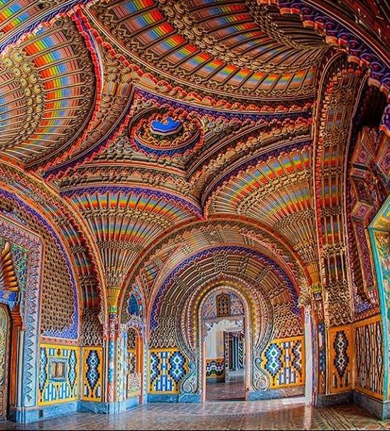 Castello sammezzano interno