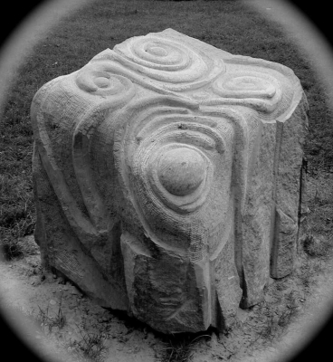 Celtic Sandstone Carving - Otzenhausen - Germany