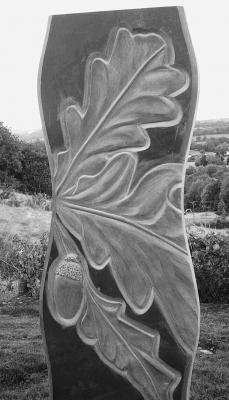Slate Carving - Oak - Coed y Brenin