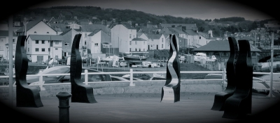 Rivers to the Sea - Sculpted Seating - Aberystwyth