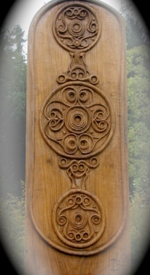 Celtic Shield in Oak - Otzenhausen - Germany