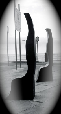 Rivers to the Sea - Sculpted seating - in situ