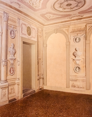 Restoration of an antique Venetians flooring, Villa from the 1700s (Vicenza, Italy). This work was chosen by the Superintendence of Venice