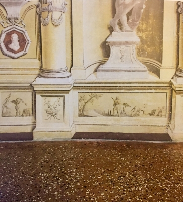 Restoration of an antique Venetians flooring, Villa from the 1700s (Vicenza).This work was chosen by the Superintendence of Venice