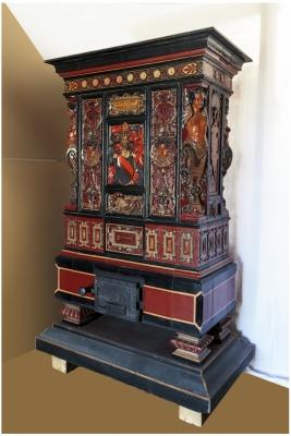 poêle Hugelin Strasbourg deuxième moitié du XIV èm s