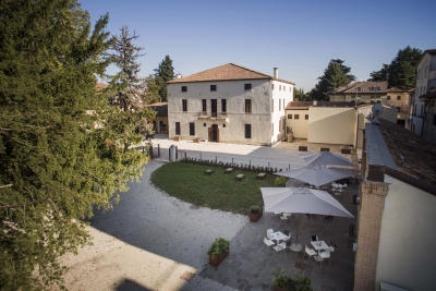 Villa Fabris - the courtyard