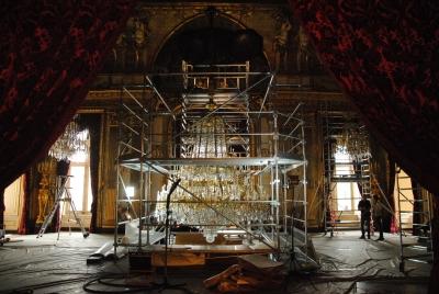 Campagne de restauration Musées du Louvres