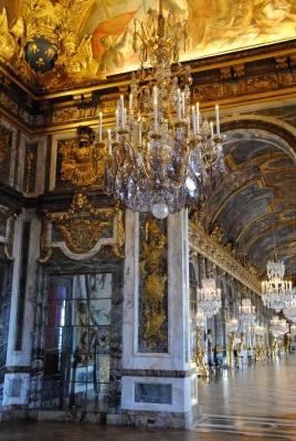 Restauration et restitution de luminaires, Château de Versailles