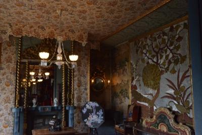 Fabrication de luminaires, Maison Victor Hugo, Salon Bleu